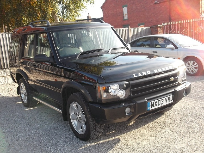View LAND ROVER DISCOVERY 2.5 Automatic TD5