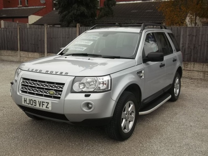 View LAND ROVER FREELANDER TD4 GS 2.2 TURBO DIESEL