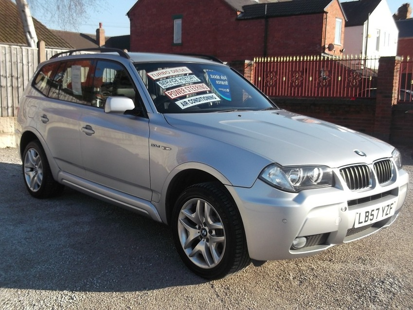 View BMW X3 2.0 D M SPORT TURBO DIESEL
